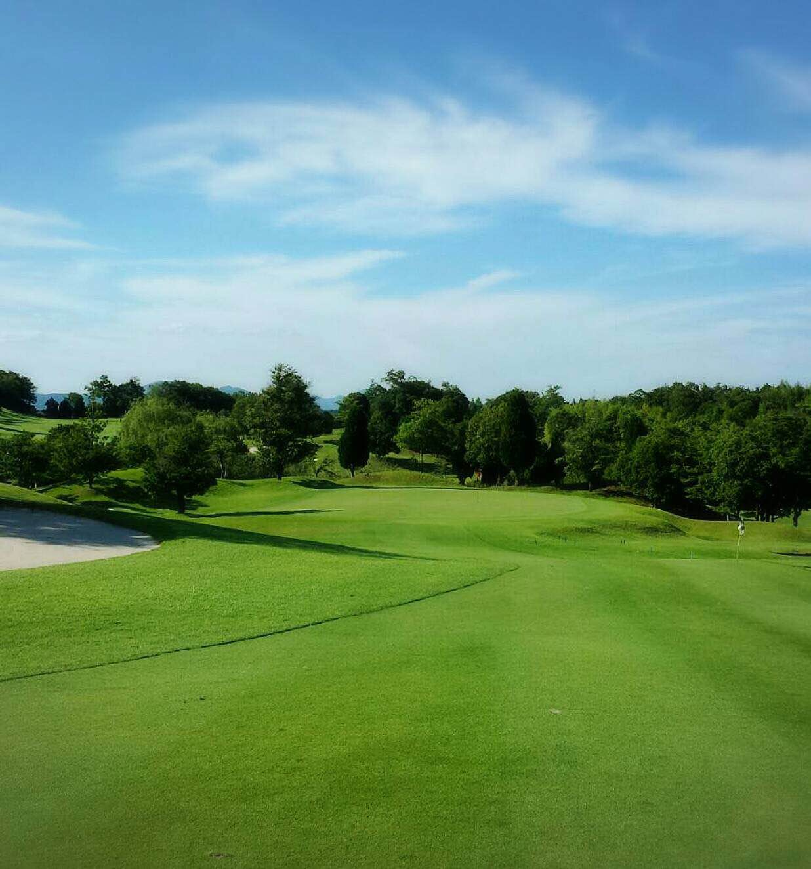 ゴルフ場の夏